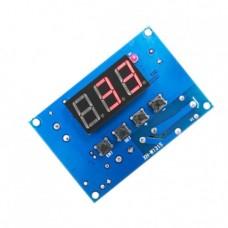 کنترل کننده دما مدل XH-W1315 دارای نمایشگر و کلیدهای کنترلی
