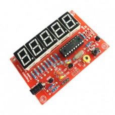 کیت فرکانس متر دیجیتال 5 بیتی دارای محدوده فرکانسی 1Hz-50MHz