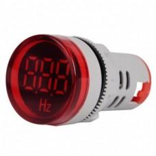 فرکانس متر AC تابلویی (چراغ سیگنالی) 20 تا 75 هرتز قرمز