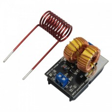 ماژول کوره القایی ZVS دارای محدوده ولتاژ ورودی 5v تا 12v