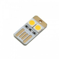 ماژول چراغ LED کوچک USB دو طرفه ( آفتابی )