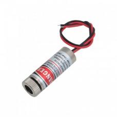 ماژول لیزر قرمز 5 ولت نقطه ای 5mw با قابلیت تنظیم نور