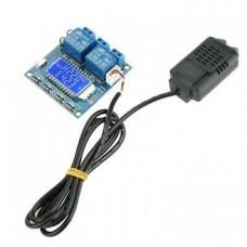 کنترل کننده دما و رطوبت دیجیتال مدل XY-TR01