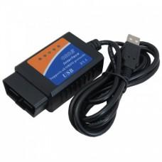 رابط و اسکنر OBD2 خودرو ELM327 دارای ارتباط USB