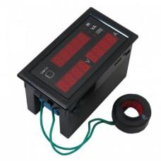 نمایشگر دیجیتال AC 100A ولتاژ جریان توان Cos ϕ