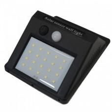 چراغ دیواری خورشیدی دارای سنسور حرکتی